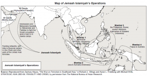 jemaah islamiyah essay Essay on capability brief jemaah islamiyah's threat to southeast asia 1 capability brief 11) background according to australian government (2002) jemaah islamiya (ji), evolved from the long–established indonesian militant movement called darul islam (di) which engaged in a violent struggle for the establishment of an islamic state in indonesia.